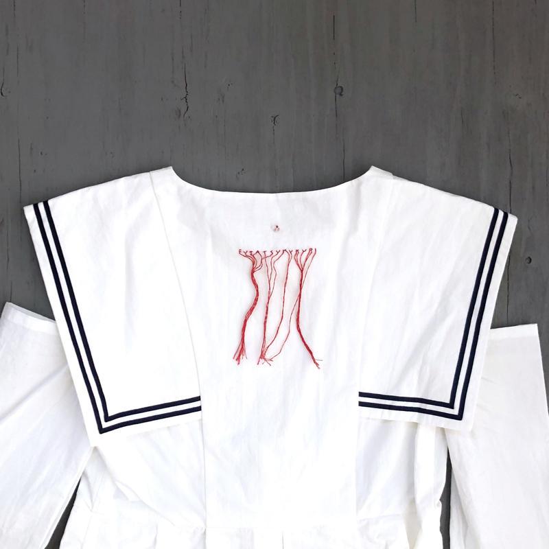 背守りワンピース / White