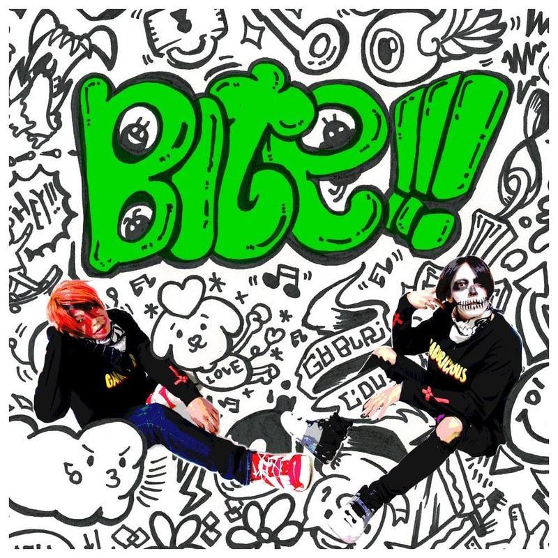 予約販売【GABURICIOUS】BITE!!!【CD】SLH YUMA / SHIRAHAN 8月2日〜順次配送