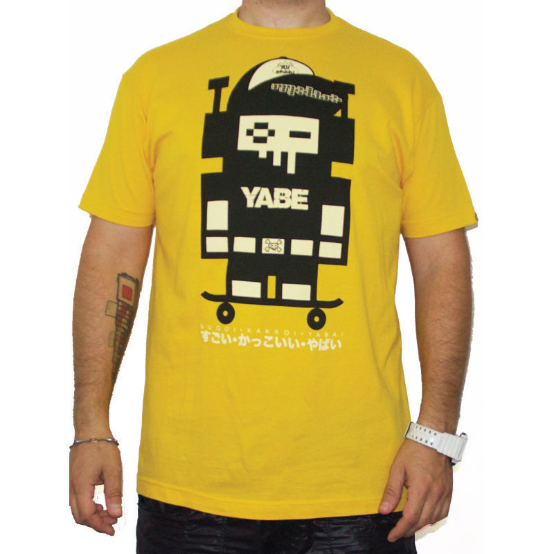 TOSHO [ |+ -| ] YABE yellow