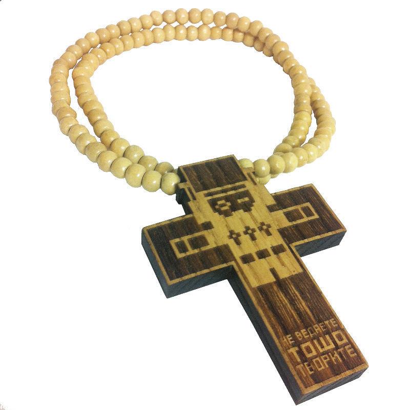 TOSHO [ |+ -| ] CROSS-AMULET necklace