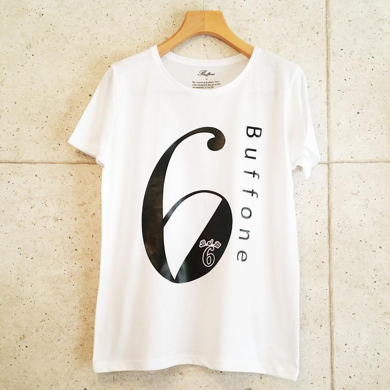 【BUFFONE】No.7 White T-Shirt
