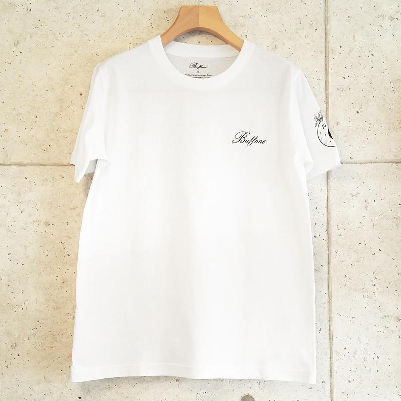 【BUFFONE】No.6 White T-Shirt