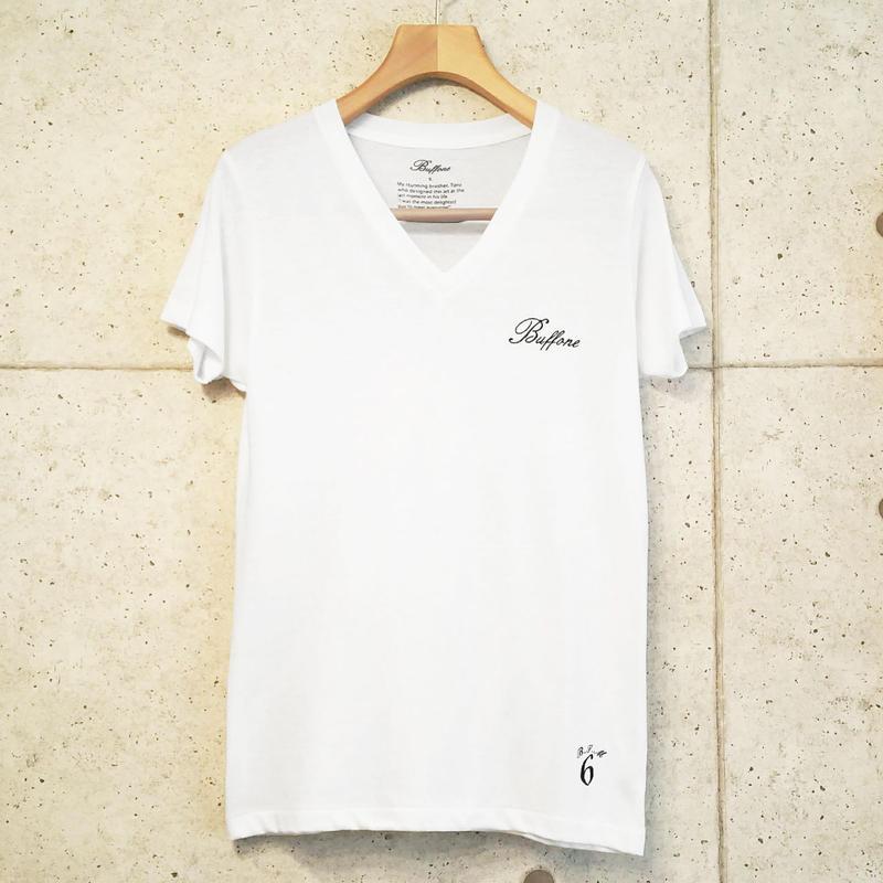 【BUFFONE】No.9 White T-Shirt