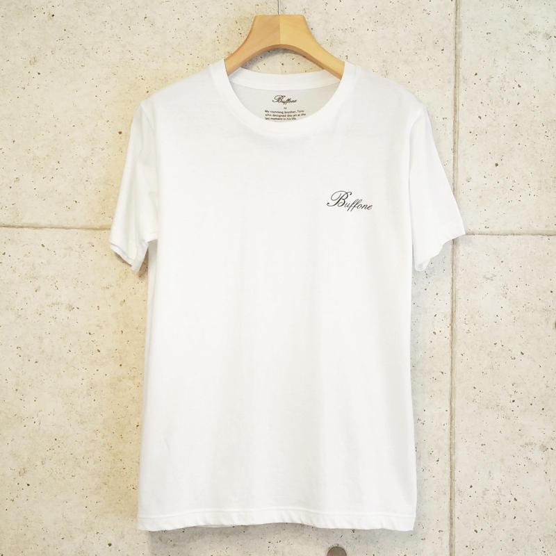 【BUFFONE】No.5 White T-Shirt