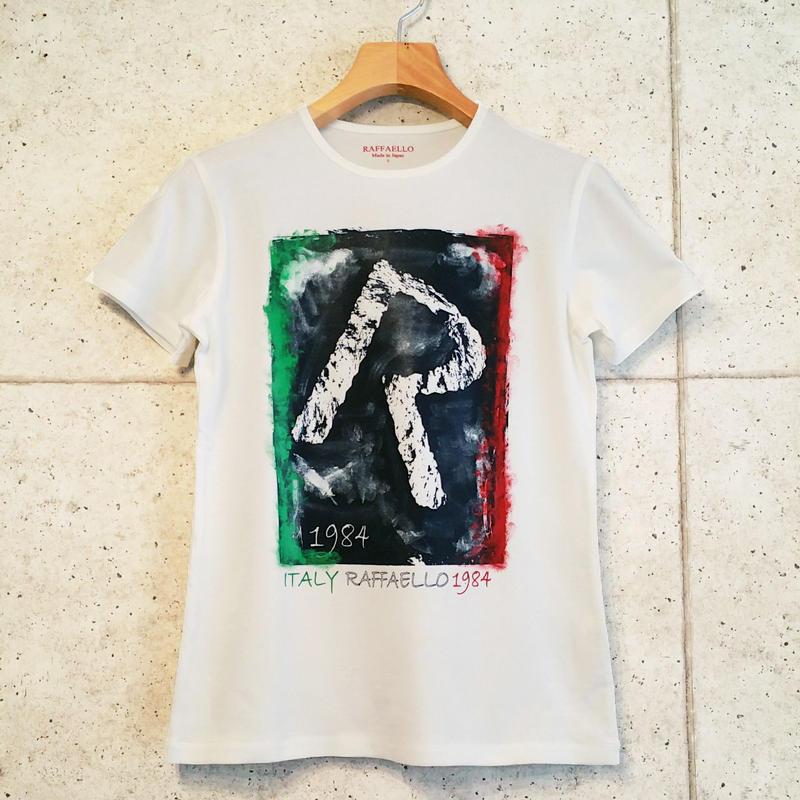 【RAFFAELLO】ITALIAN 1984 R T-Shirt