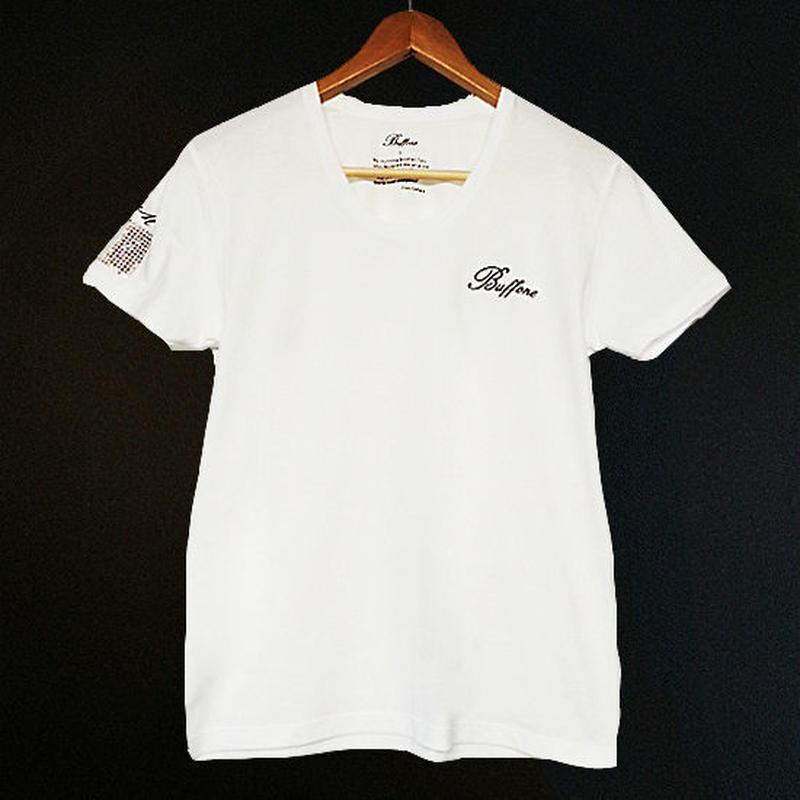 【BUFFONE】No.12 White T-Shirt