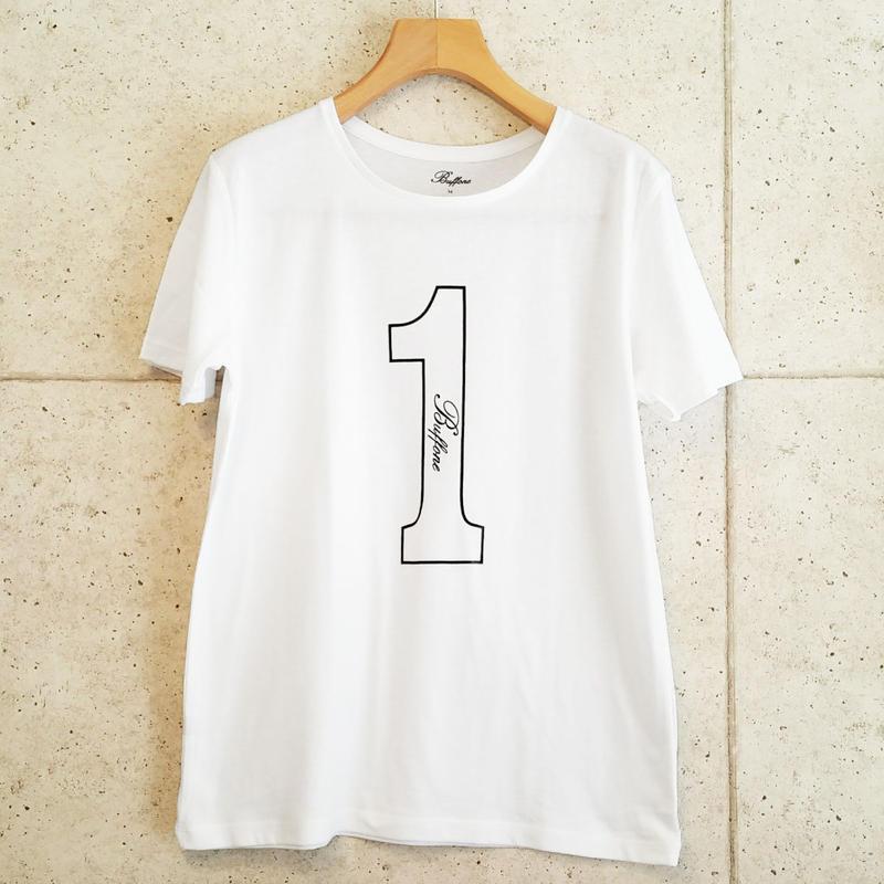 【BUFFONE】No.2 White T-Shirt