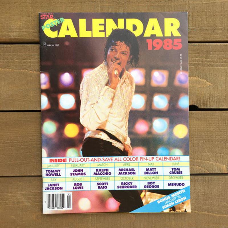 MICHAEL JACKSON Poster Calender1985/マイケル・ジャクソン ポスターカレンダー1985/190620-14