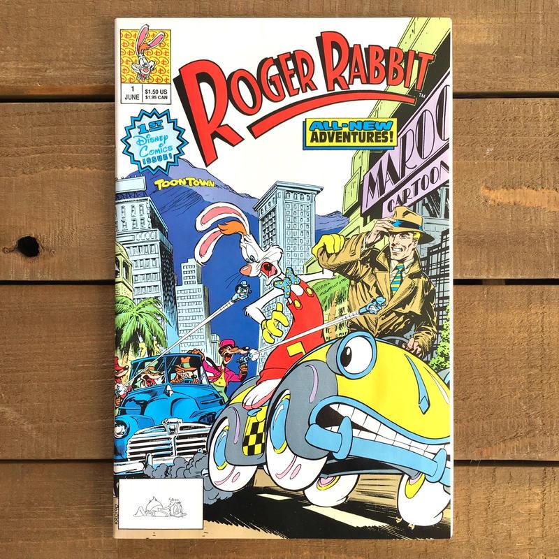 Who Framed ROGER RABBIT Roger Rabbit Comics 1/ロジャーラビット コミック 1号/190315-1