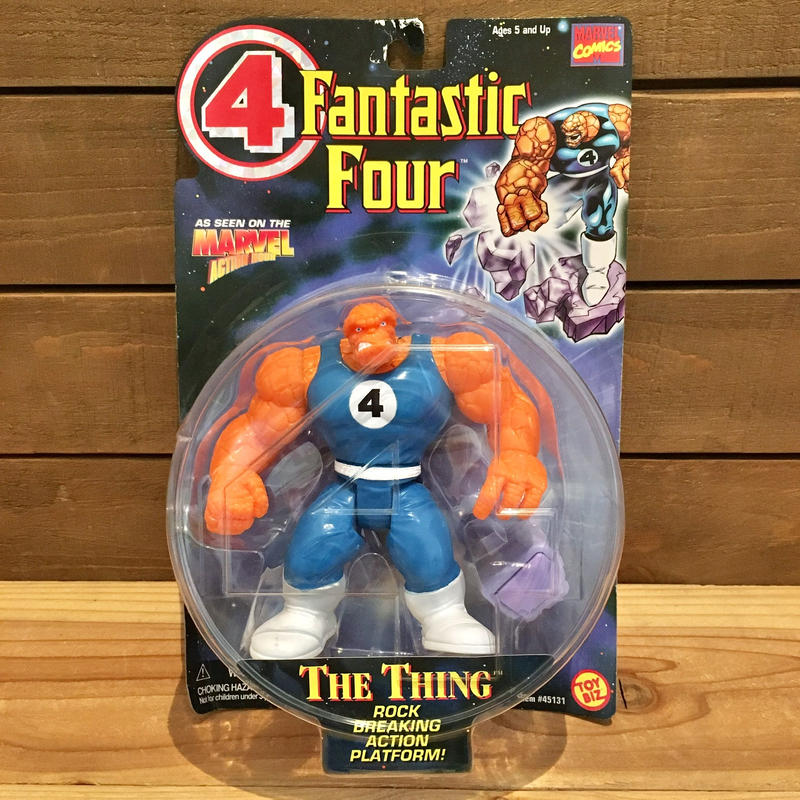 Fantastic Four The Thing Figure/ファンタスティックフォー ザ・シング フィギュア/190627-9