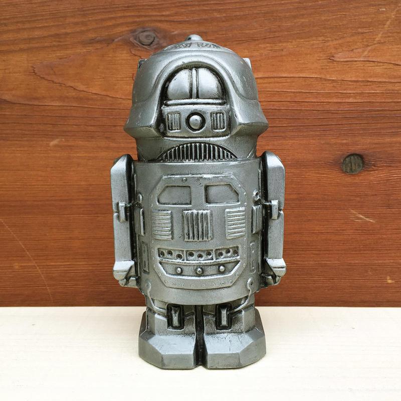 NORTH SHORE NATIONAL BANK Robot Metal Bank/ノースショアナショナルバンク ロボットメタル 貯金箱/180203-4