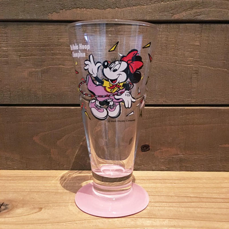 Disney Minnie Mouse Glass/ディズニー ミニー・マウス グラス/180926-1