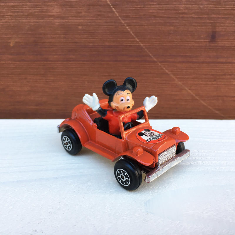 Disney Mikey Mouse Die Cast Car/ディズニー ミッキーマウス ダイキャストカー/180114-11