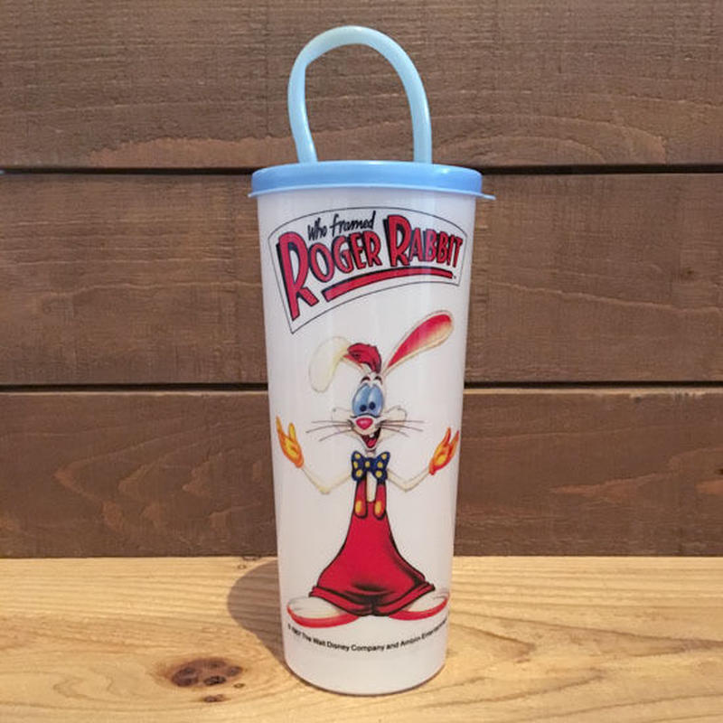 Who Framed ROGER RABBIT  Plastic Cup/ロジャーラビット プラスチックカップ /180724-4