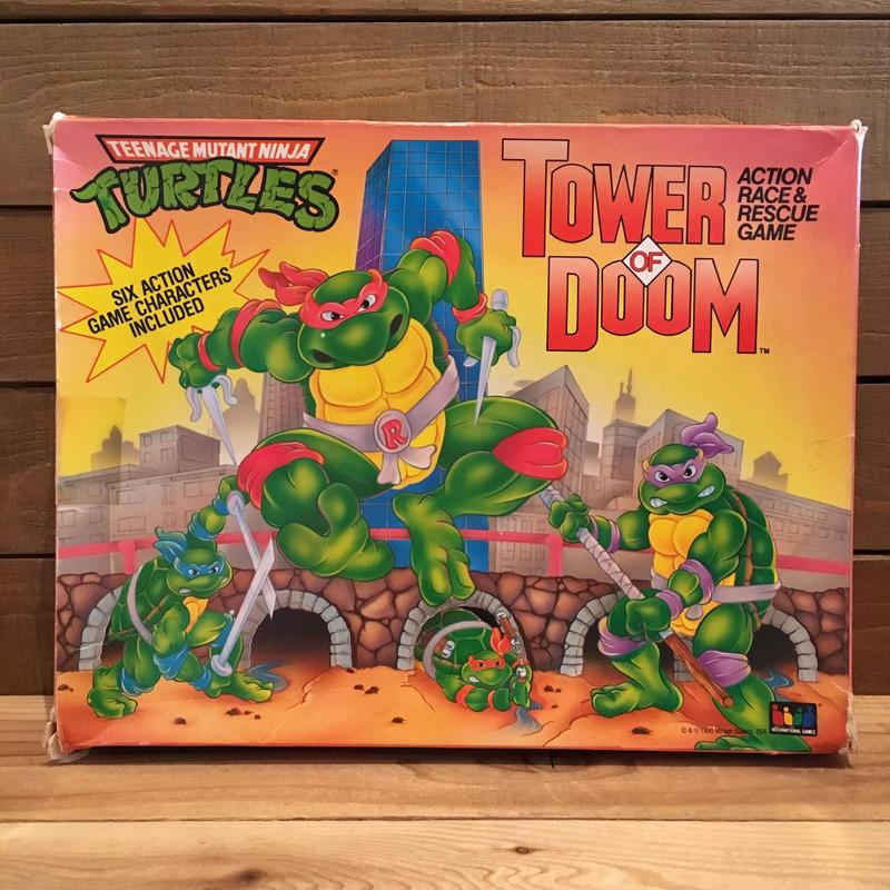 TURTLES Tower of Doom Game/タートルズ タワー・オブ・ドゥーム ゲーム/190202-1