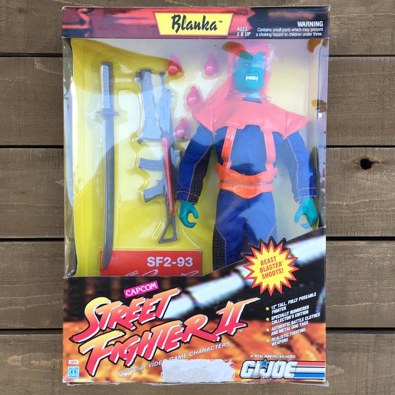 G.I.JOE Street Fighter 2 Blanka 12Inch/GIジョー ストリートファイター2 ブランカ 12インチフィギュア/170217-3