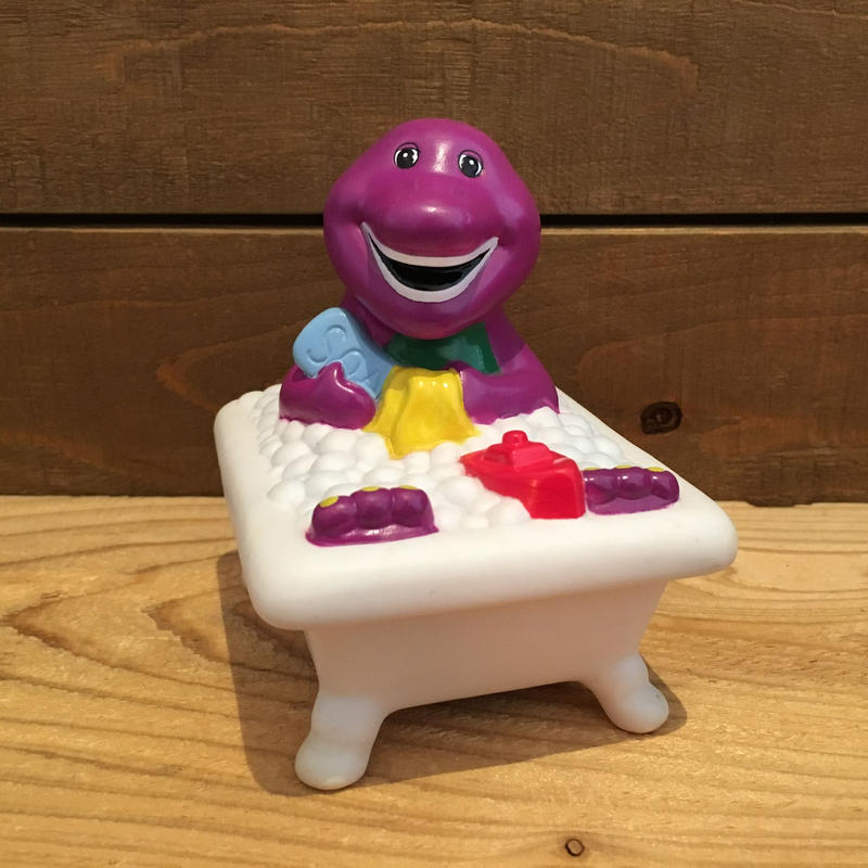 BARNEY Barney Bathtub Toy/バーニー バストイ/190317-14