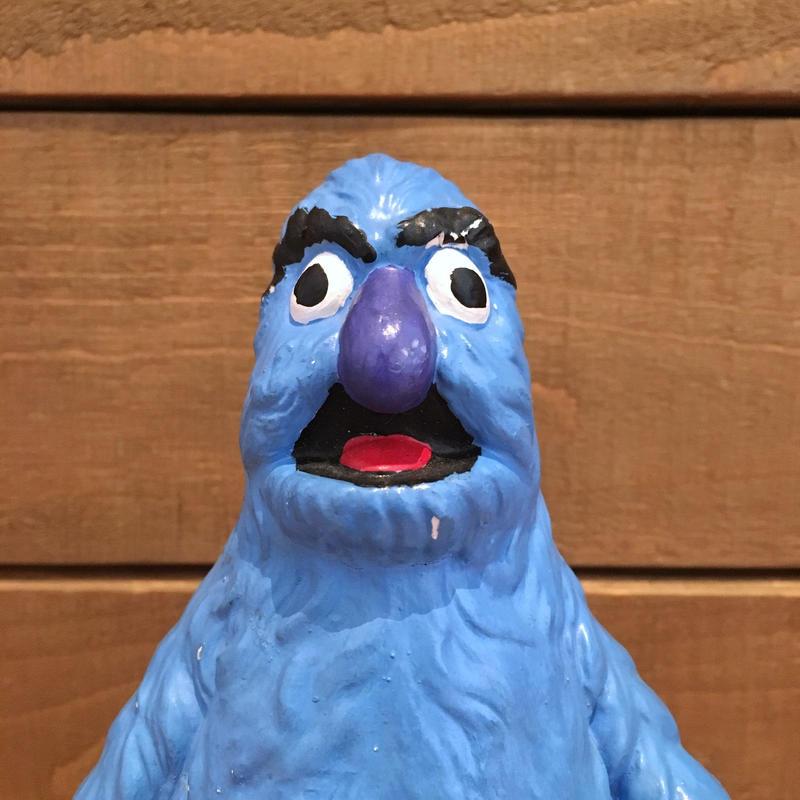 SESAME STREET Herry Monster Ceramic Figurine/セサミストリート ヘリーモンスター セラミックフィギュアリン/190529-1
