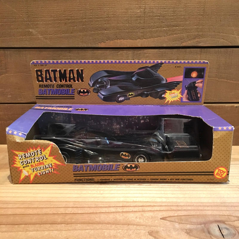 BATMAN Remote Control Batmobile/バットマン リモートコントロール バットモービル/190308-6
