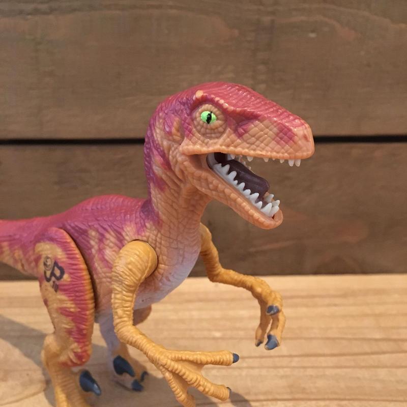 JURASSIC PARK Velociraptor Figure/ジュラシックパーク ヴェロキラプトル フィギュア/181103-13