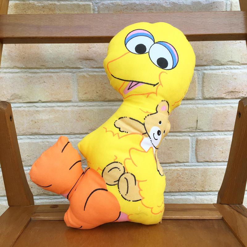 SESAME STREET Big Bird Pillow Doll/セサミストリート ビッグバード ピロードール/171120-4