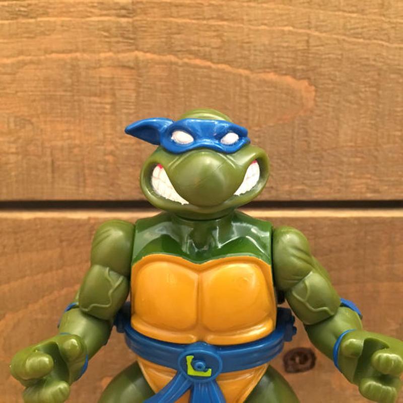 TURTLES Leonardo With Storage Shell Figure/タートルズ ストレージシェル・レオナルド フィギュア/190110-12