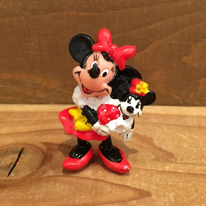 Disney Minnie Mouse PVC Figure/ディズニー ミニー・マウス PVCフィギュア/190208-13