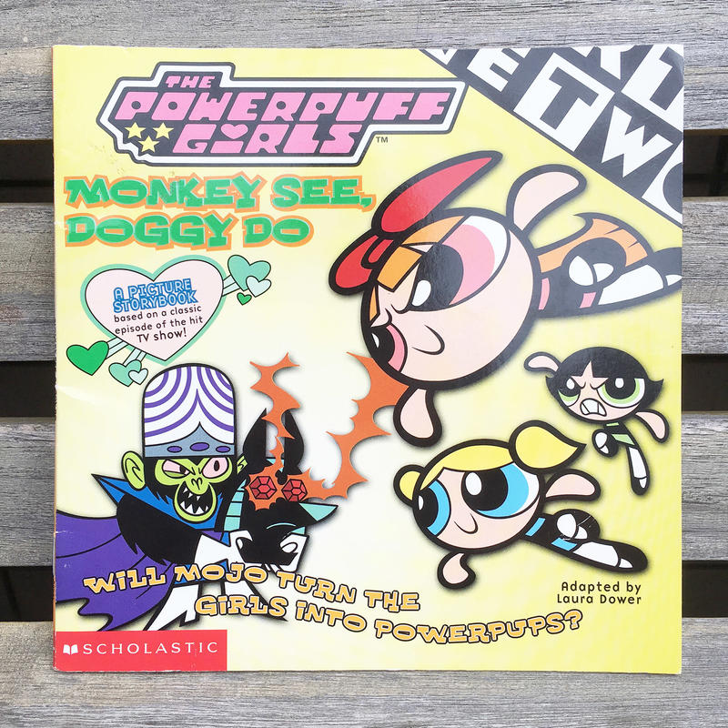 POWERPUFF GIRLS Picture Story Book/パワーパフガールズ 絵本/180416-4