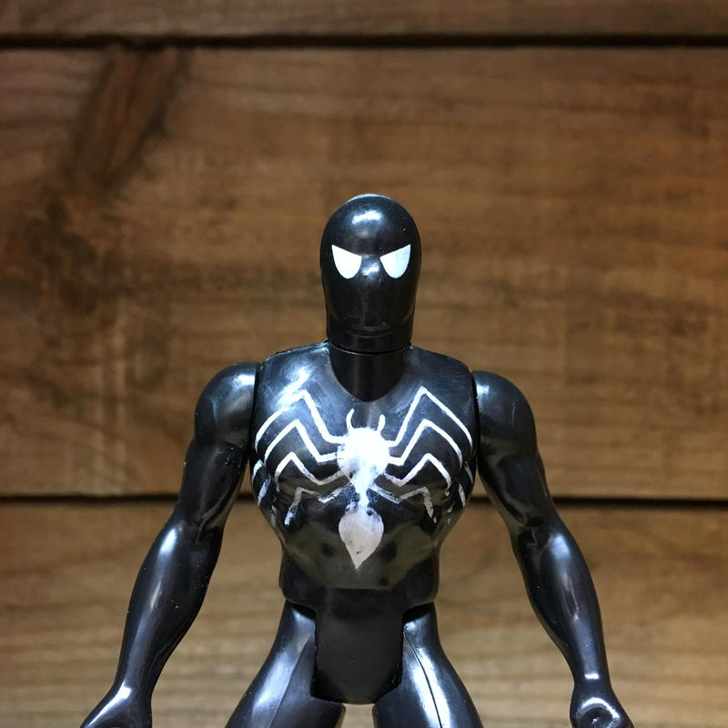 SPIDER-MAN Secret Wars Spider-Man Black Figure/スパイダーマン シークレットウォーズ スパイダーマン・ブラック フィギュア/180913-8