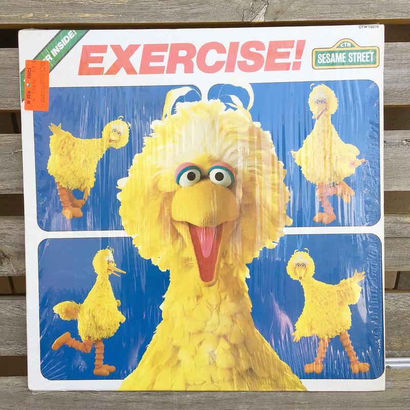 SESAME STREET Exercise Record/セサミストリート エクササイズ レコード/180607-7