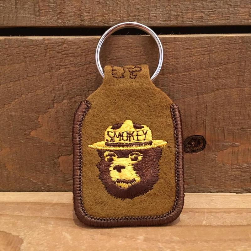 SMOKEY BEAR Key Ring/スモーキーベア キーホルダー/190118-8