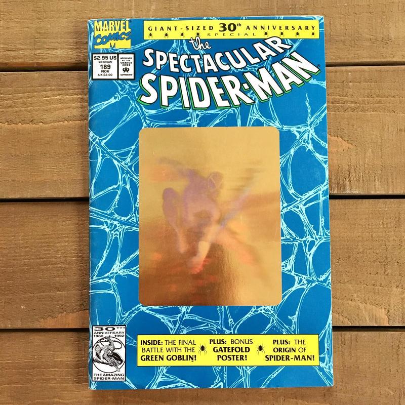 SPIDER-MAN the Spectacular Spider-man Comics 1992.Nov.189/スパイダーマン コミック 1992年11月189号/190228-21