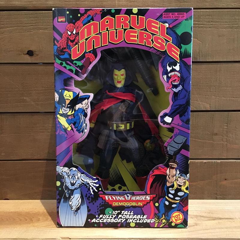 SPIDER-MAN 10Inch Demogoblin Figure/スパイダーマン 10インチ デモゴブリン フィギュア/180726-1