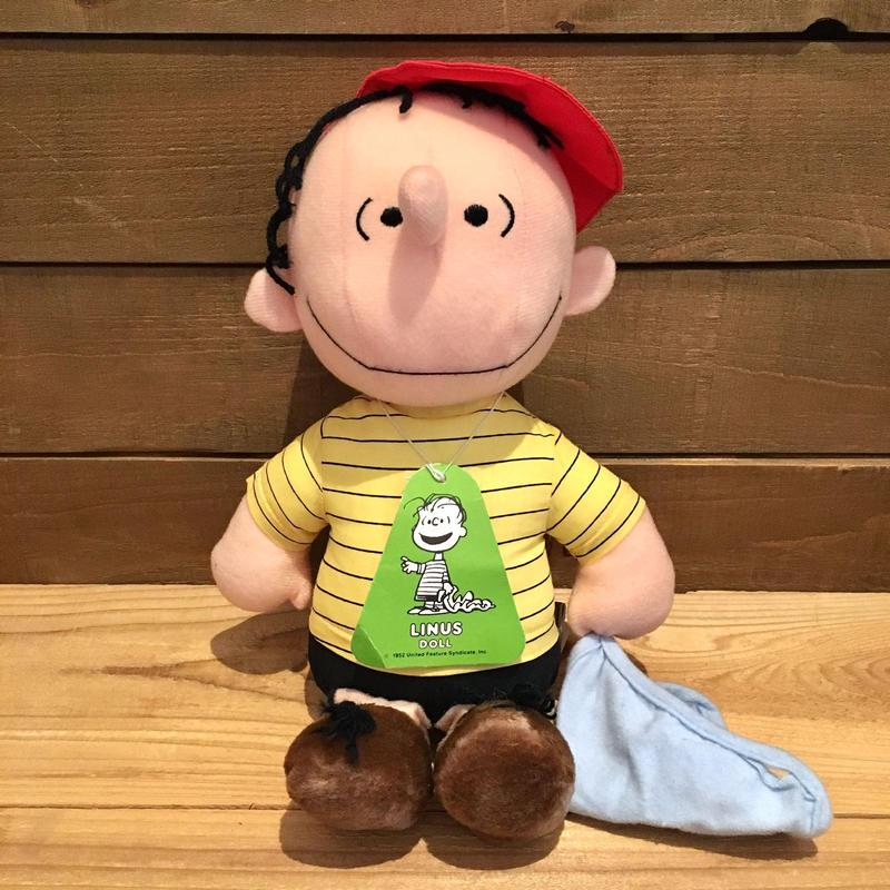 PEANUTS Linus Plush Doll/ピーナッツ ライナス ぬいぐるみ/190321-9