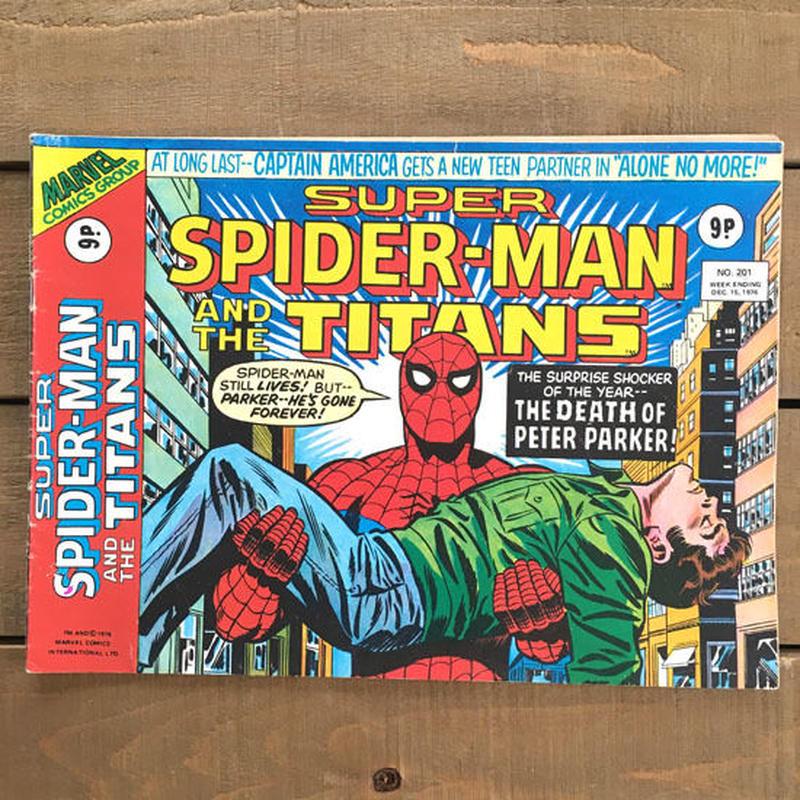SPIDER-MAN Super Spider-man and the Titans Comics 1976.Dec.201/スパイダーマン コミック 1976年12月201号/190425-3