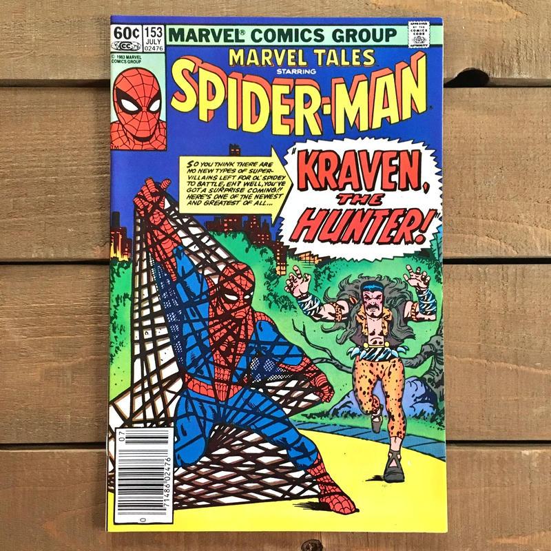 SPIDER-MAN Spider-man Comics 1983.July.153/スパイダーマン コミック 1983年7月153号/190228-16
