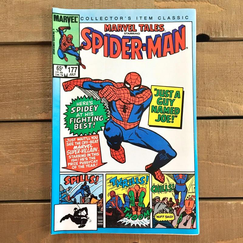 SPIDER-MAN Spider-man Comics 1985.July.177/スパイダーマン コミック 1985年7月177号/190228-19