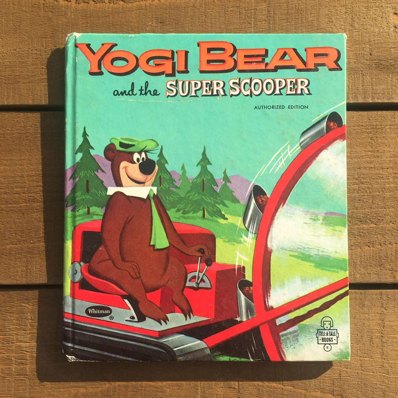 Yogi Bear Picture Book/ヨギ・ベア 絵本/181210-5