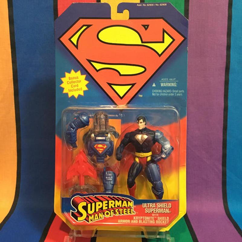 SUPERMAN Ultra Shield Superman/スーパーマン ウルトラシールドスーパーマン フィギュア/160309-10