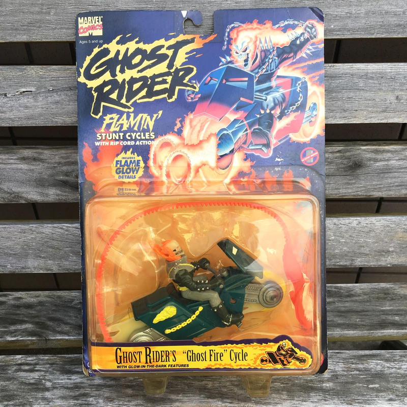 GHOST RIDER Ghost Fire Cycle FIgure/ゴーストライダー ゴーストファイアサイクル フィギュア/181001-8