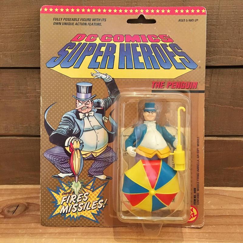 BAT MAN  DC Super Heroes The Penguin Figure/バットマン DCスーパーヒーローズ ペンギン フィギュア/190129-5