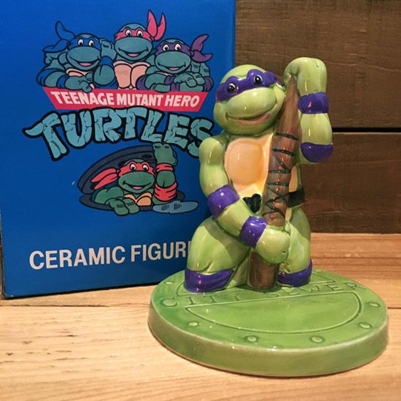 TURTLES Donatello Ceramic Figure/タートルズ ドナテロ セラミックフィギュア/190207-21
