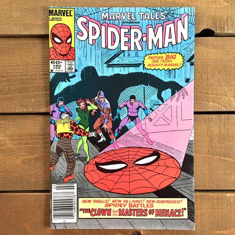 SPIDER-MAN Spider-man Comics 1983.Feb.160/スパイダーマン コミック 1983年2月160号/190228-5