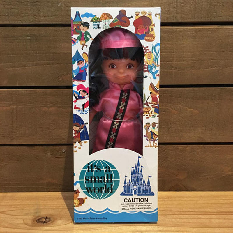 it's a small world China Girl Doll/イッツアスモールワールド 中国の女の子 ドール/180909-7