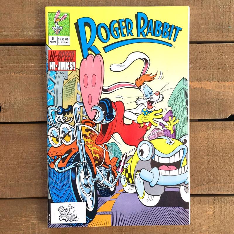 Who Framed ROGER RABBIT Roger Rabbit Comics 6/ロジャーラビット コミック 6号/190315-4