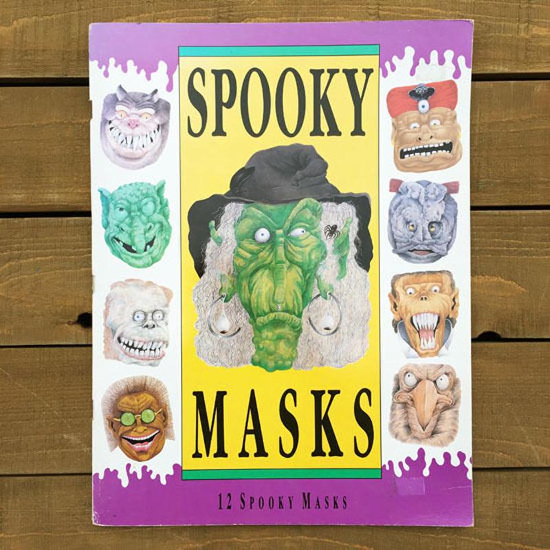 Spooky Masks Book/スプーキーマスクブック/181019-2