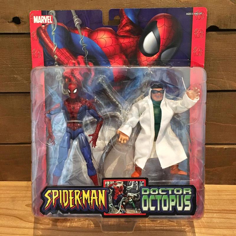 SPIDER-MAN Spider-man VS Dr Octopus Figure Set/スパイダーマン スパイダーマン VS Drオクトパス フィギュアセット/190506-3