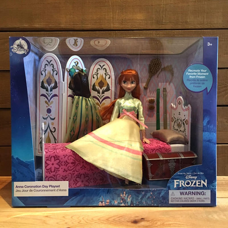 FROZEN Anna Coronation Doll Playset/アナと雪の女王 アナ 戴冠式 ドール プレイセット/190106-8