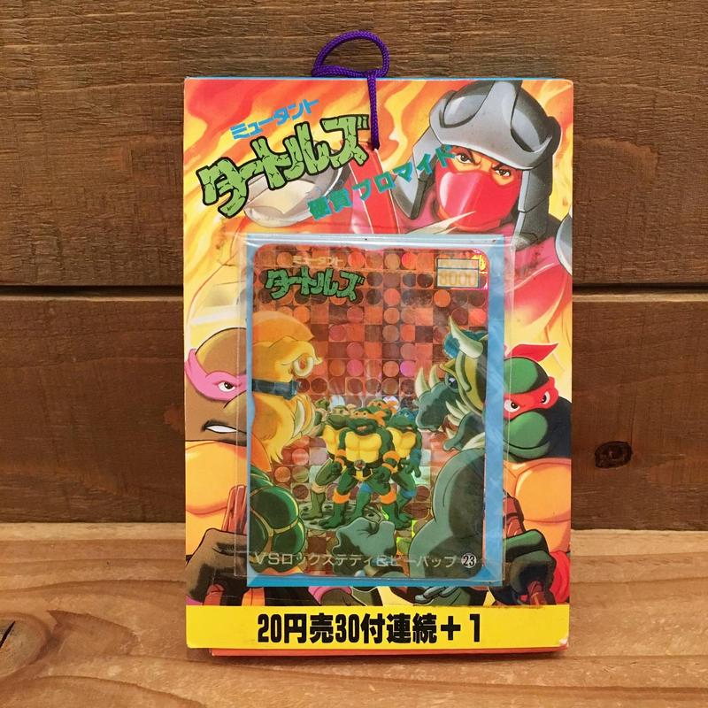 TURTLES Card Set/タートルズ 硬質ブロマイド 1束セット/1801220-1