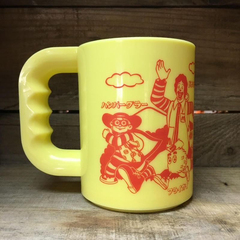 McDonald's Plastic Cup/マクドナルド プラスチックカップ/181224-3